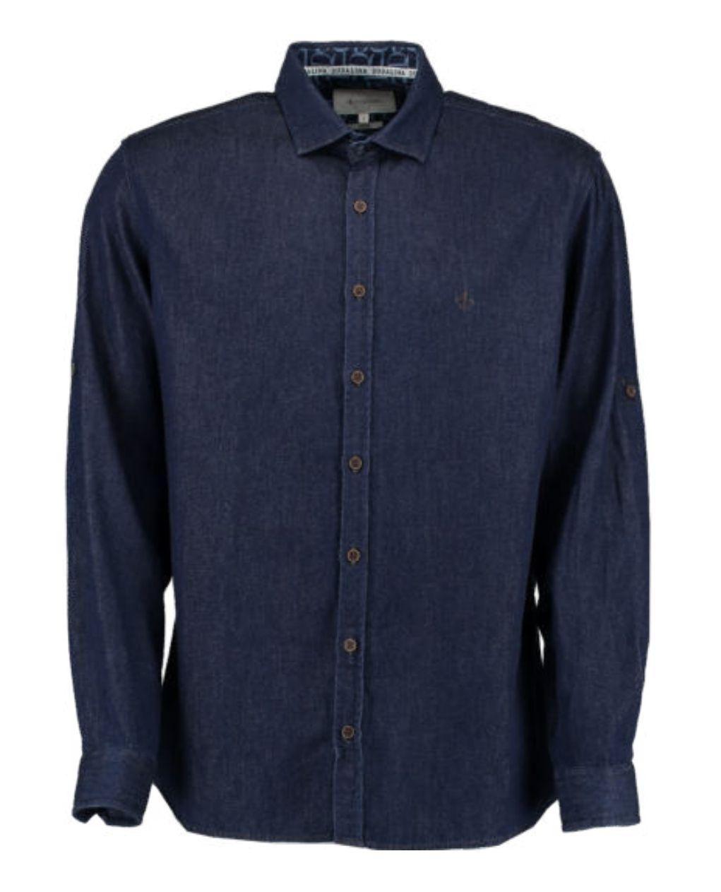 Camisa ML Jeans Moleton Dudalina