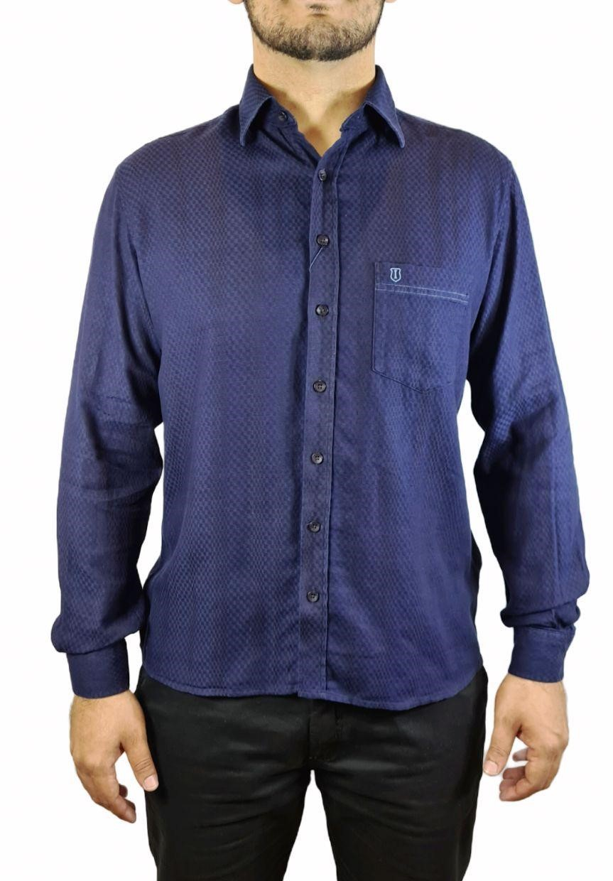 Camisa Ml Slim Estampada Individual