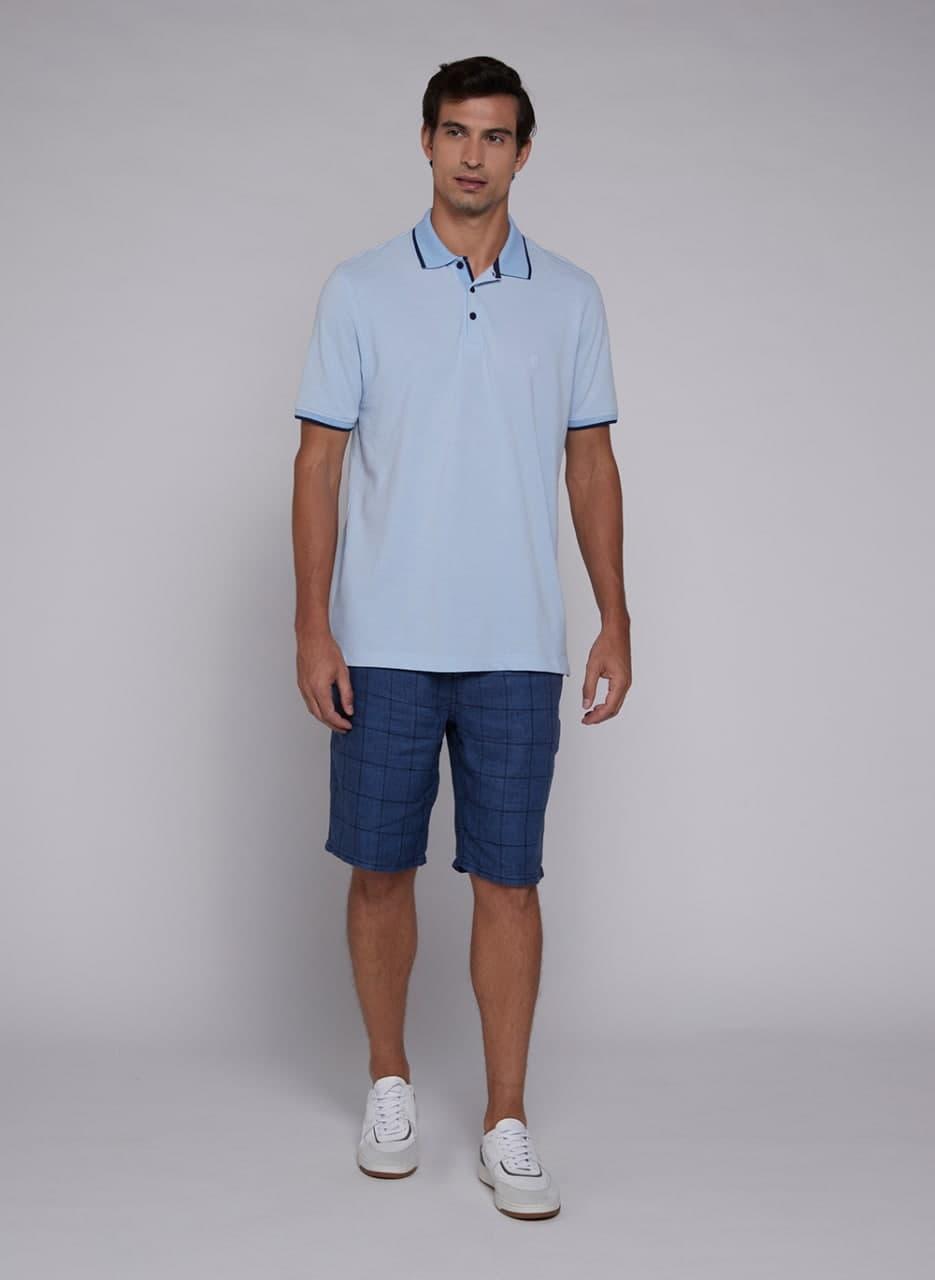 Camisa Polo Individual Malha Diferenciada