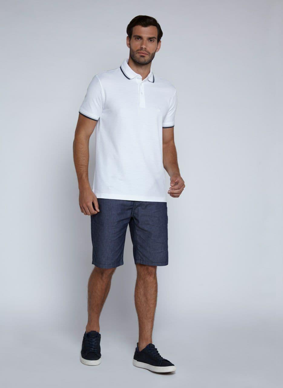Camisa Polo MC Friso Pima Essentials Dudalina