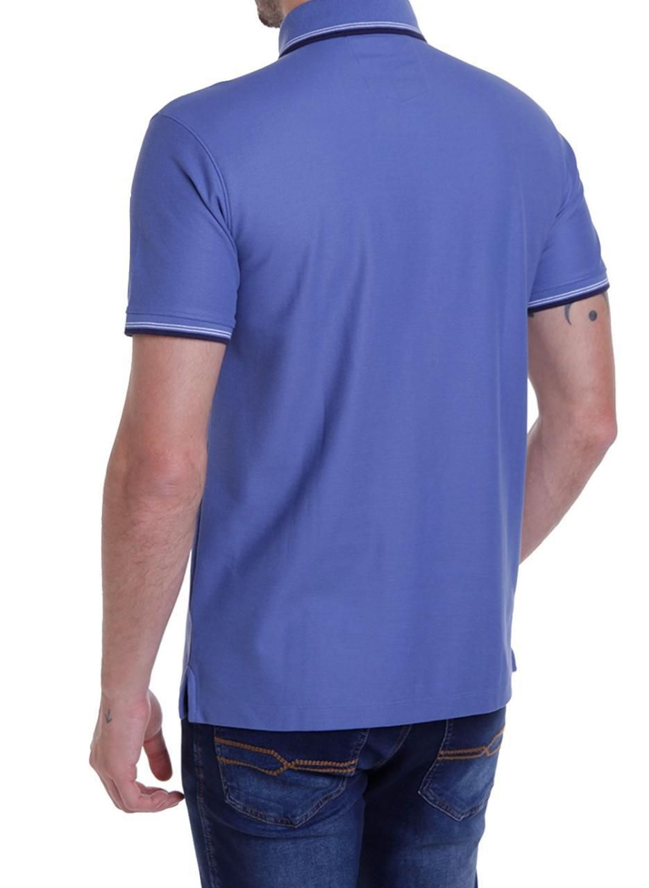 Camisa Polo MC Friso Pima Essentials Dudalina