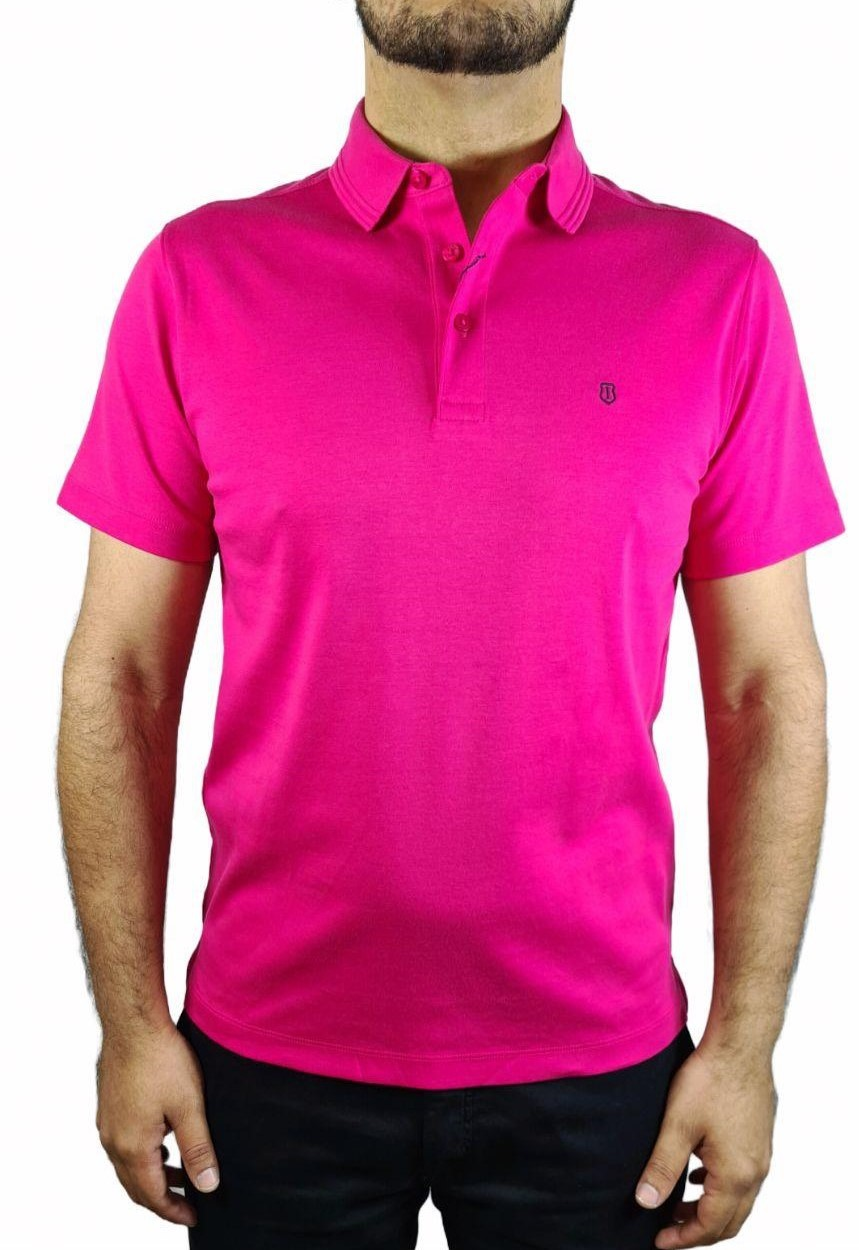 Camisa Polo Pima Cotton Slim Fit Individual