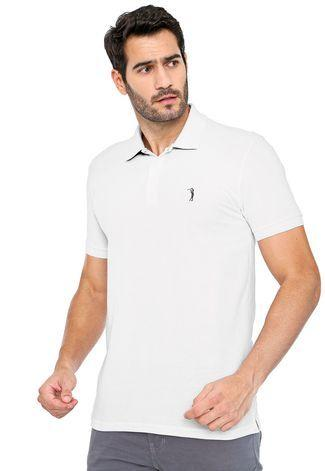 Camisa Polo Reta Logo Light Aleatory