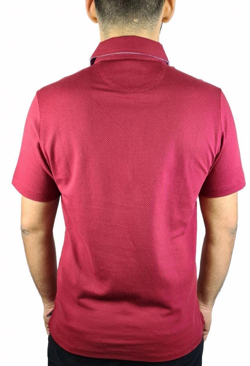 Camisa Polo Top MC Pima Com Gola Montada Individual