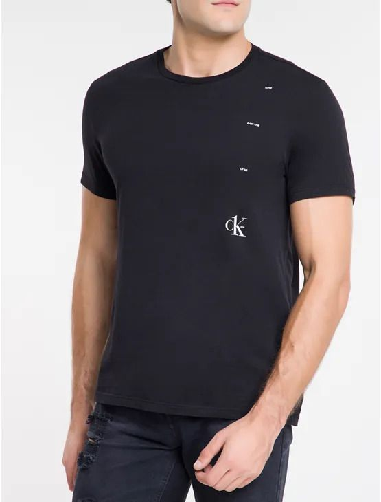 Camiseta Mc Estampa Calvin Klein
