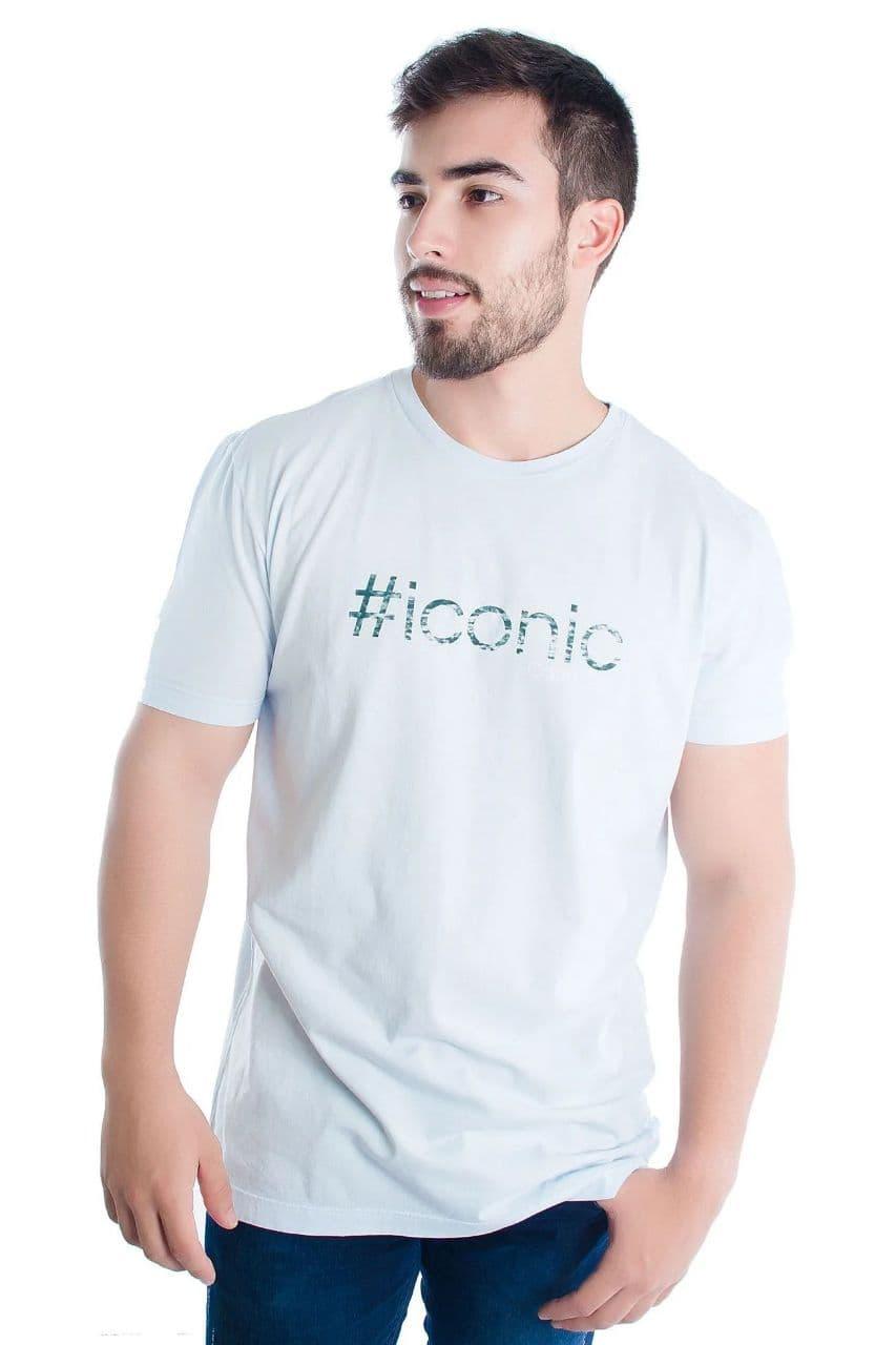 Camiseta Calvin Klein Regular Frase No Verso