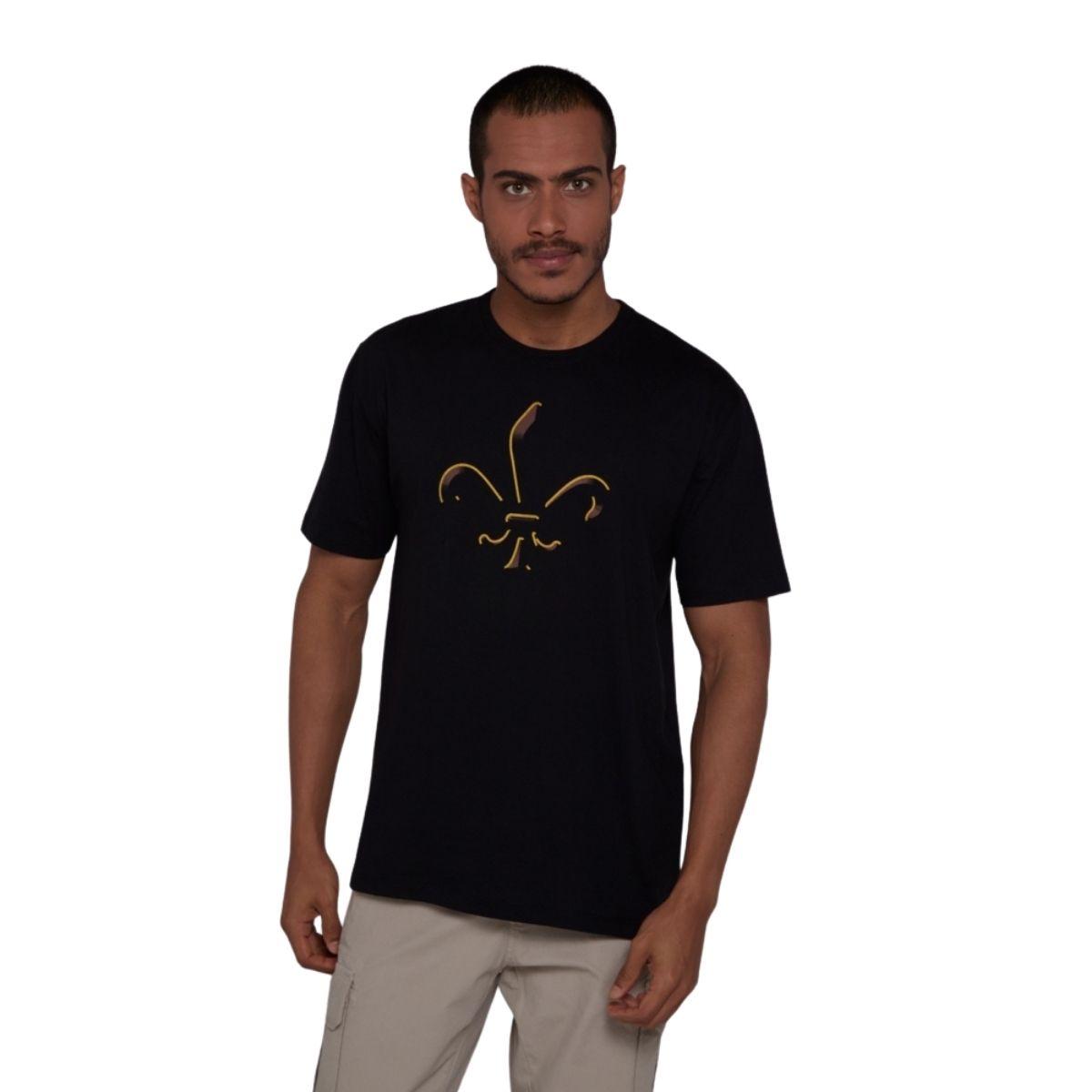 Camiseta Dudalina Manga Curta Gold Symbol