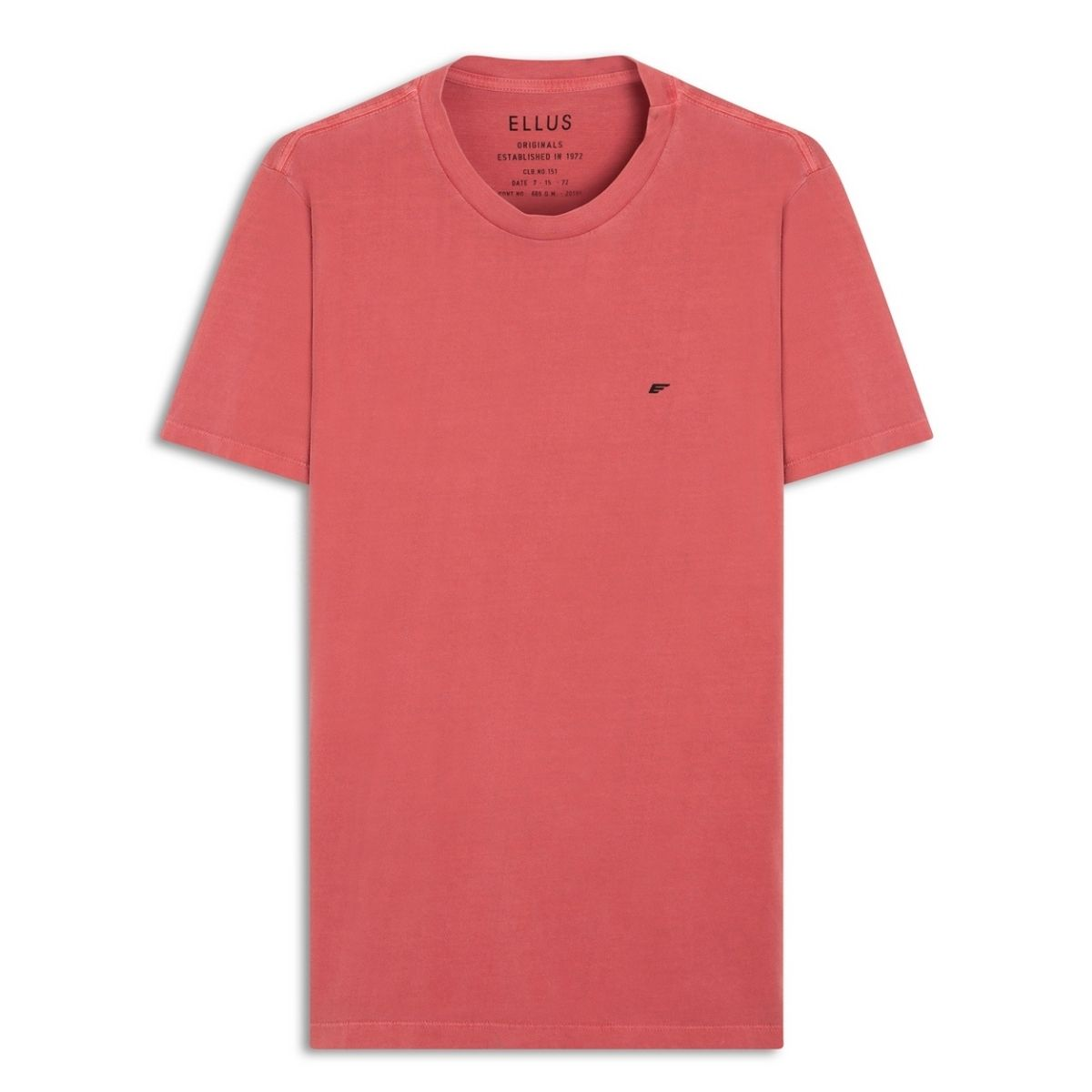 Camiseta Ellus Manga Curta Cotton Fine E Asa Classic  Clb.no.151