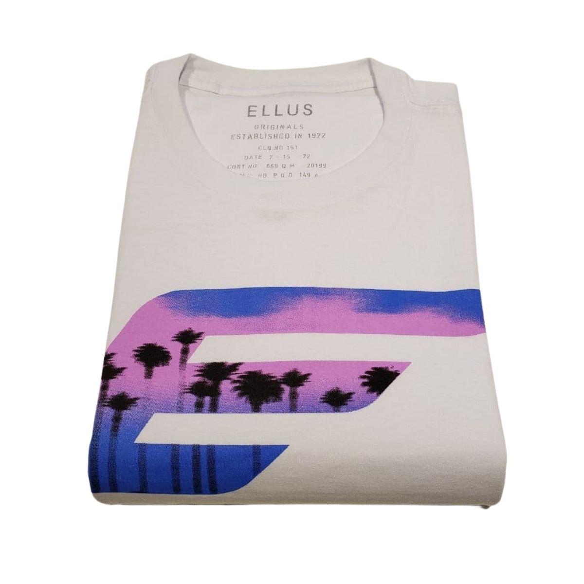 Camiseta Ellus Manga Curta Santorini Classic