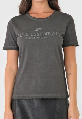 Camiseta Ellus Manga Curta Spray Essentials