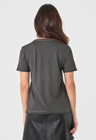 Camiseta Ellus Manga Curta Spray Essentials