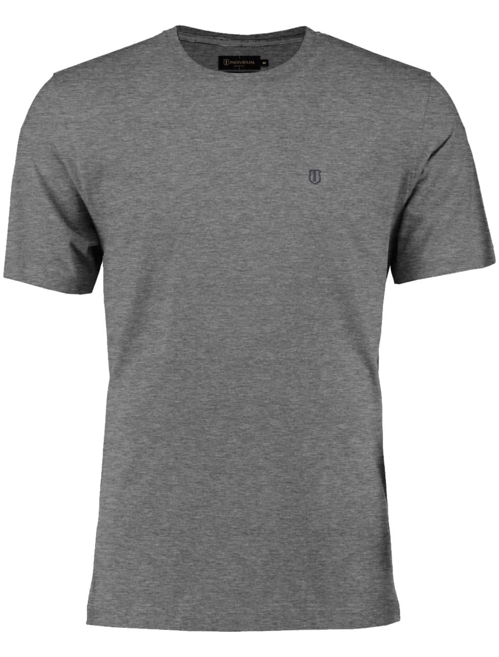 Camiseta Individual Manga Curta Pima Gola Careca Slim