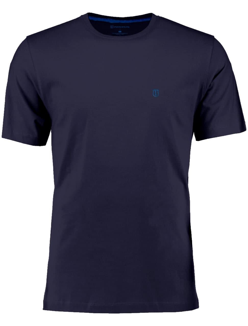 Camiseta Individual Manga Curta Basica Slim Fit Gola Careca