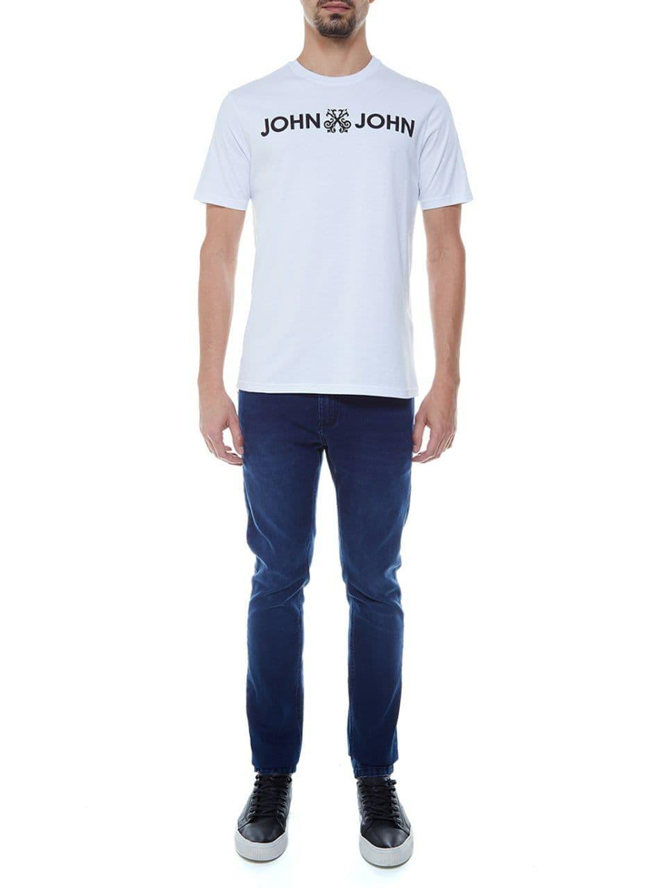 Camiseta John John Basica Logo Regular