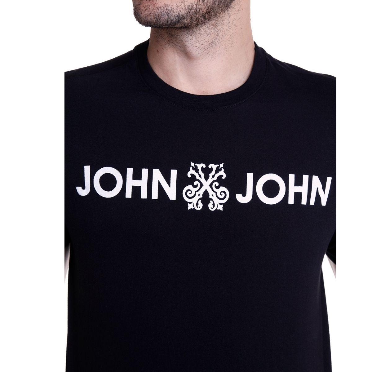 Camiseta John John Estampada Basic Regular