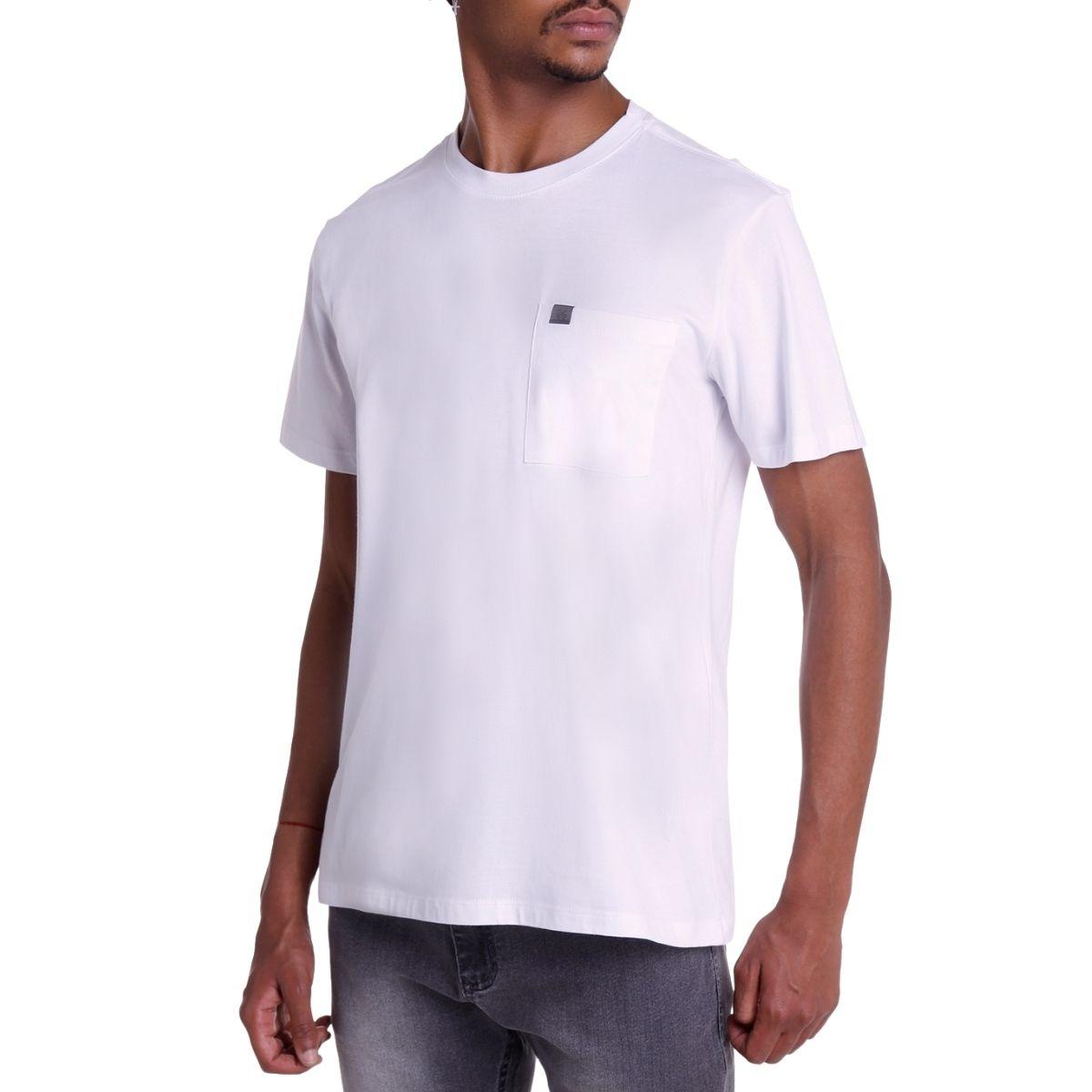 Camiseta John John Lisa Rx Pocket Basic