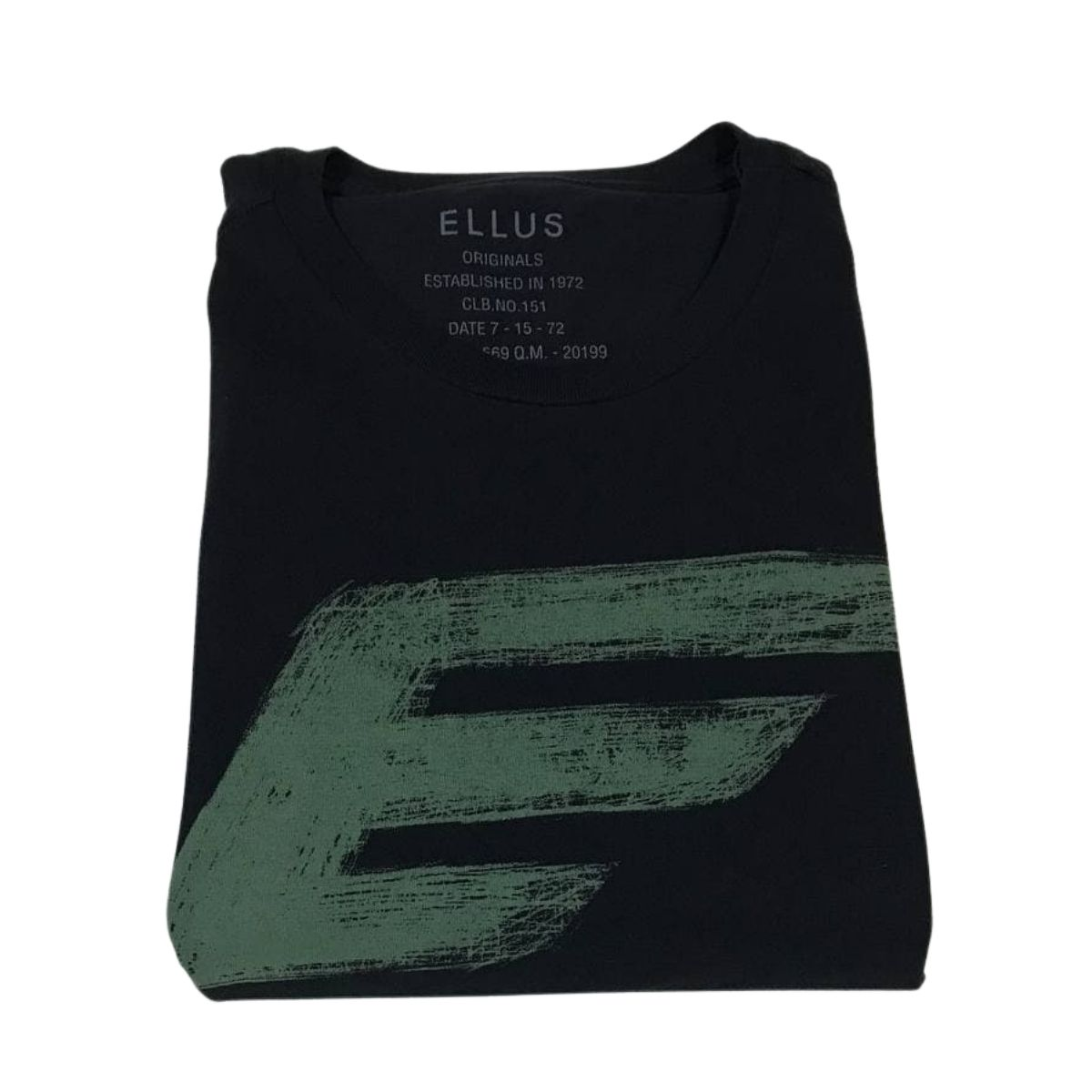 Camiseta Manga Curta Ellus Cotton Fine E Asa Classic