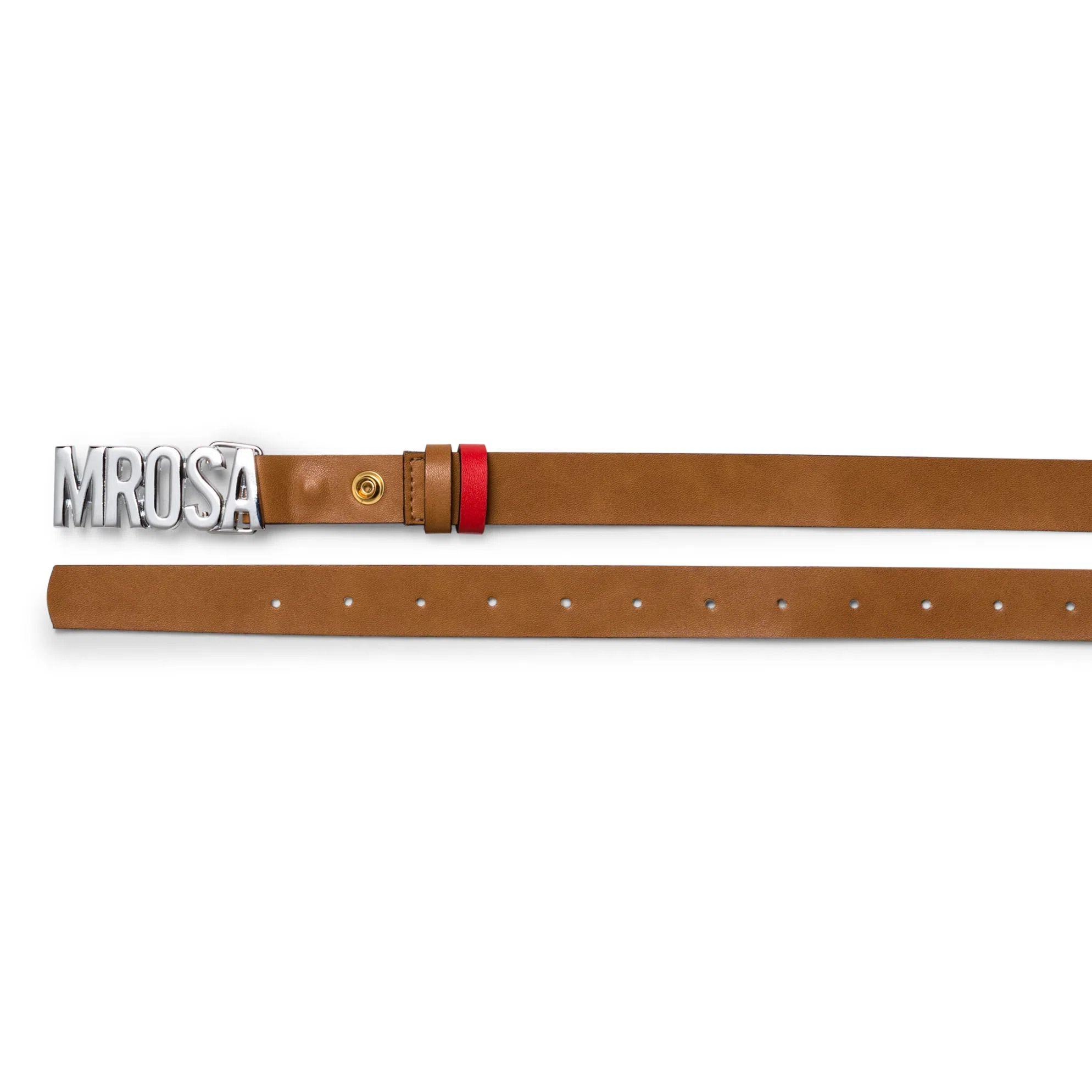 Cinto Cintura Quadril Skinny Fivela Peronalizada Morena Rosa