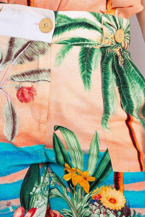 Short Estampado Tropical Rery