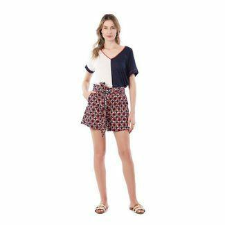 Shorts Comfort Com Faixa Maria Valentina