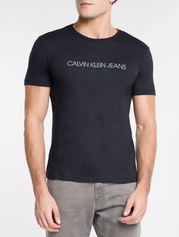 T-shirt MC Embossed Calvin Klein