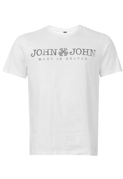 T Shirt Estampa Basic John John