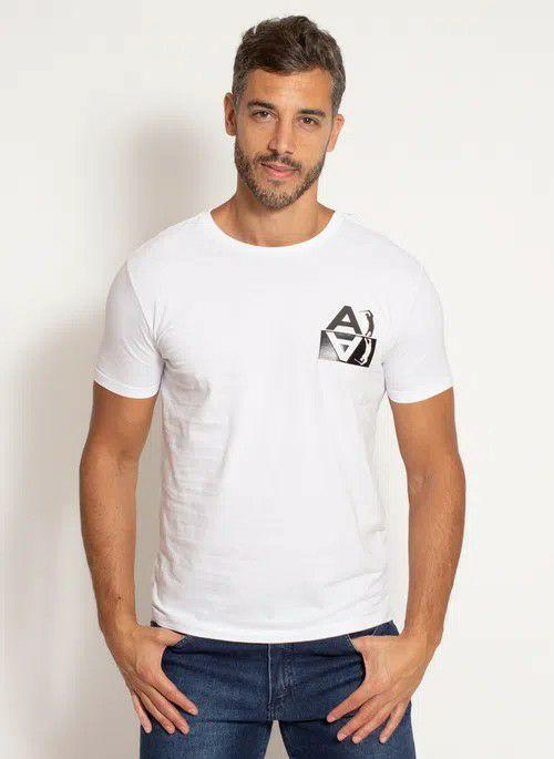 Camiseta Aleatory Estampada Start