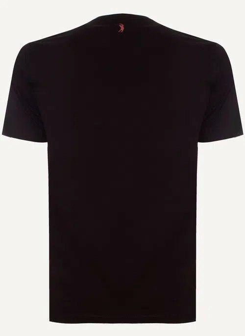 Camiseta Aleatory Manga Curta Estampada Tree