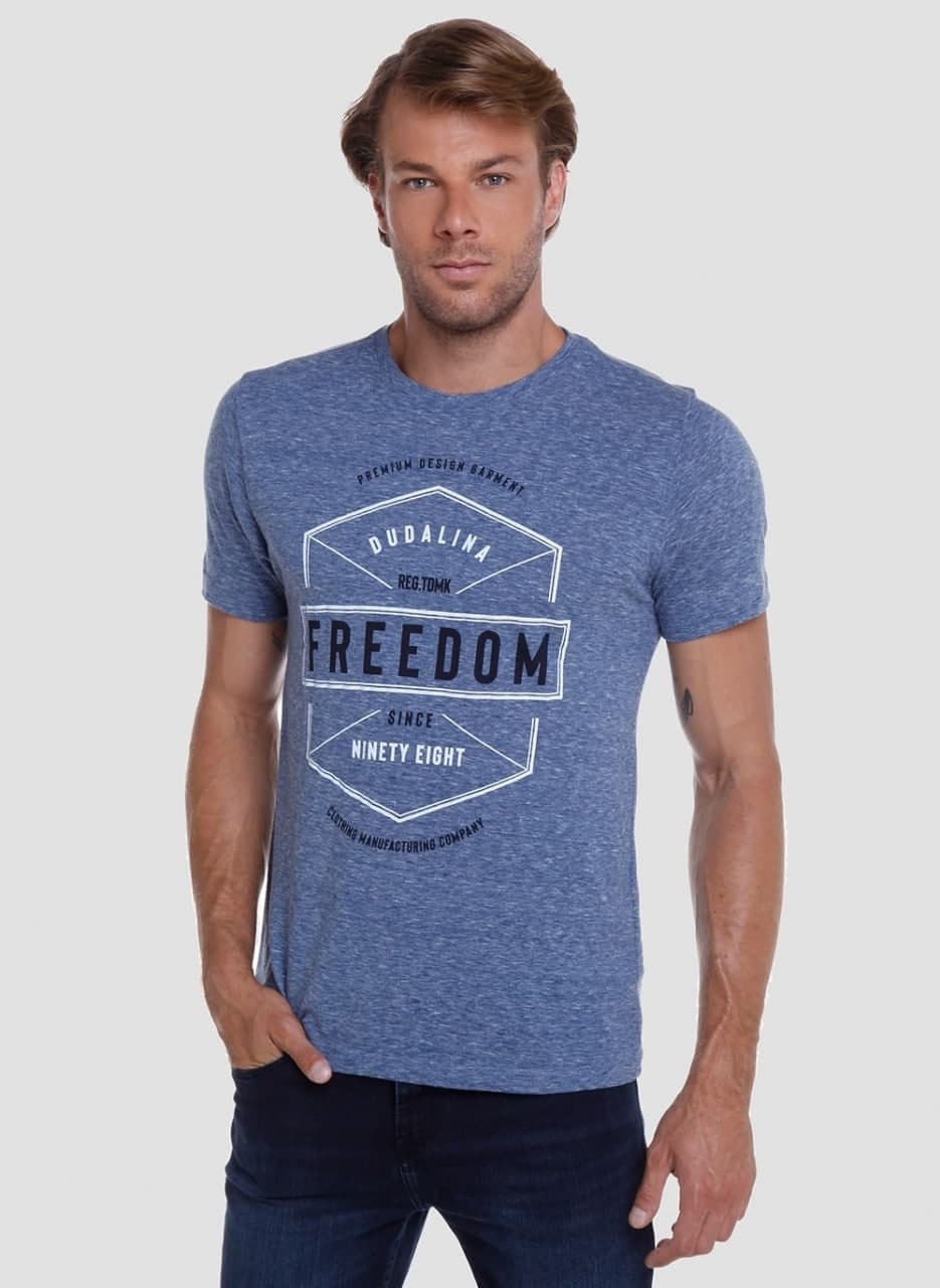T-shirt Mc Dc Freedom Dudalina