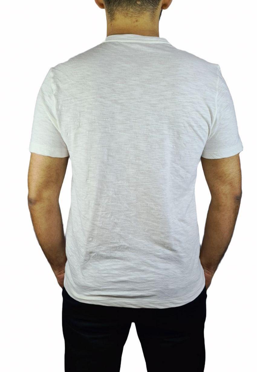 Camiseta Individual Manga Curta Estampa Folha Slim Fit DC