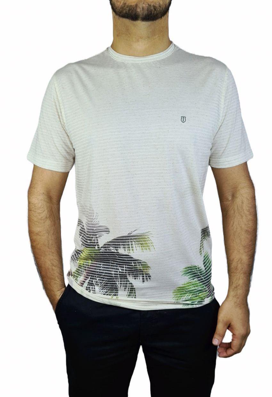 Camiseta Individua Manga Curta Malha Palmeiras