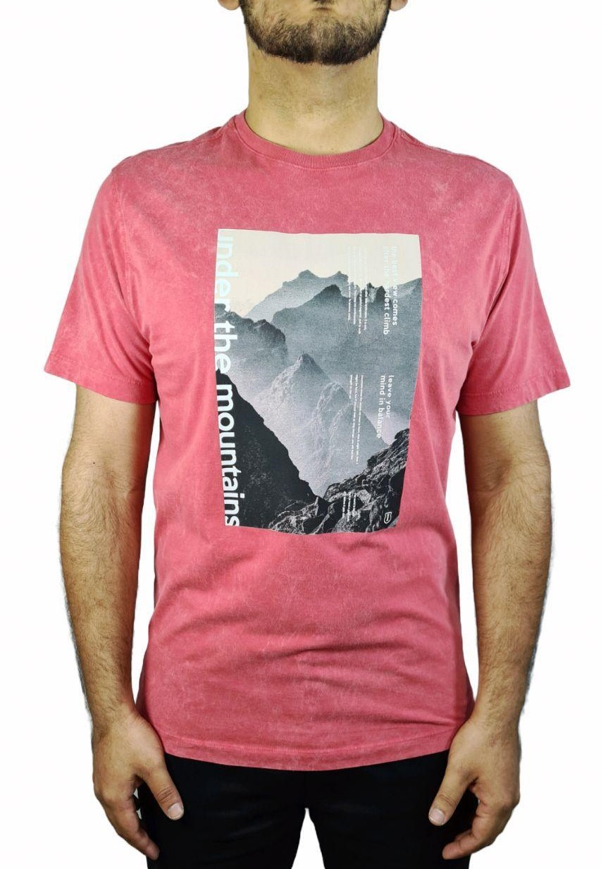 Camiseta Individual Manga Curta Top DC The Mountains