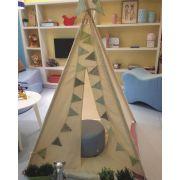Cabana Bandeirinhas Verde Bebê