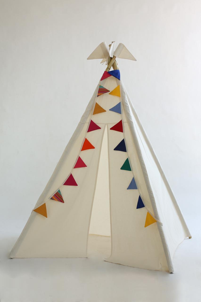 Cabana Bandeirinhas Coloridas