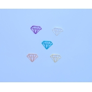 Clips de Metal - Diamante