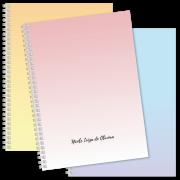 Coleção Sparkle - Caderno Universitário