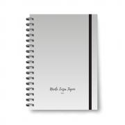 Planner Médio Gray - Não datado