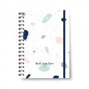 Planner Médio Brush Dots - Não datado