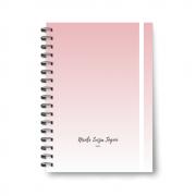 Planner Médio Pink - Não datado