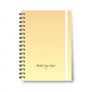 Planner Médio Yellow - Não datado