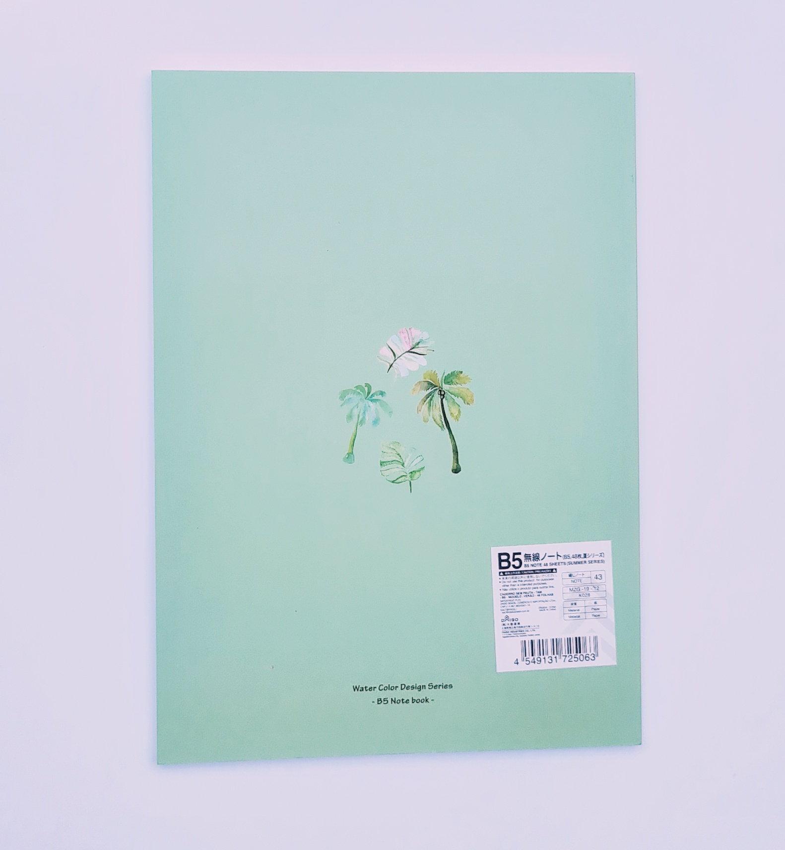 Caderno - Green Plants