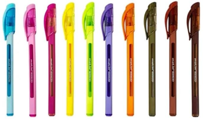 Canetas Coloridas - Trion Color Plus