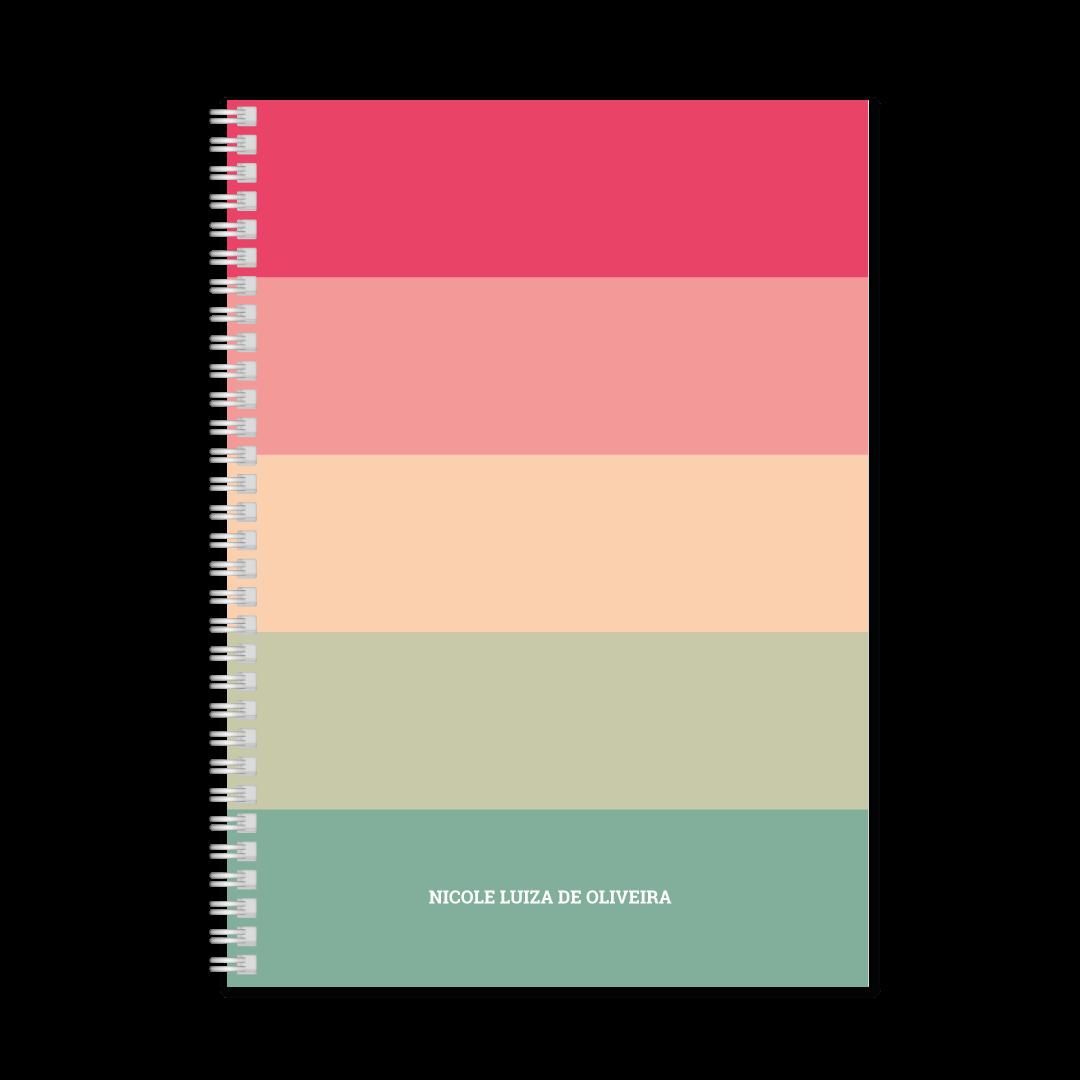 Coleção Rainbow - Caderno Médio