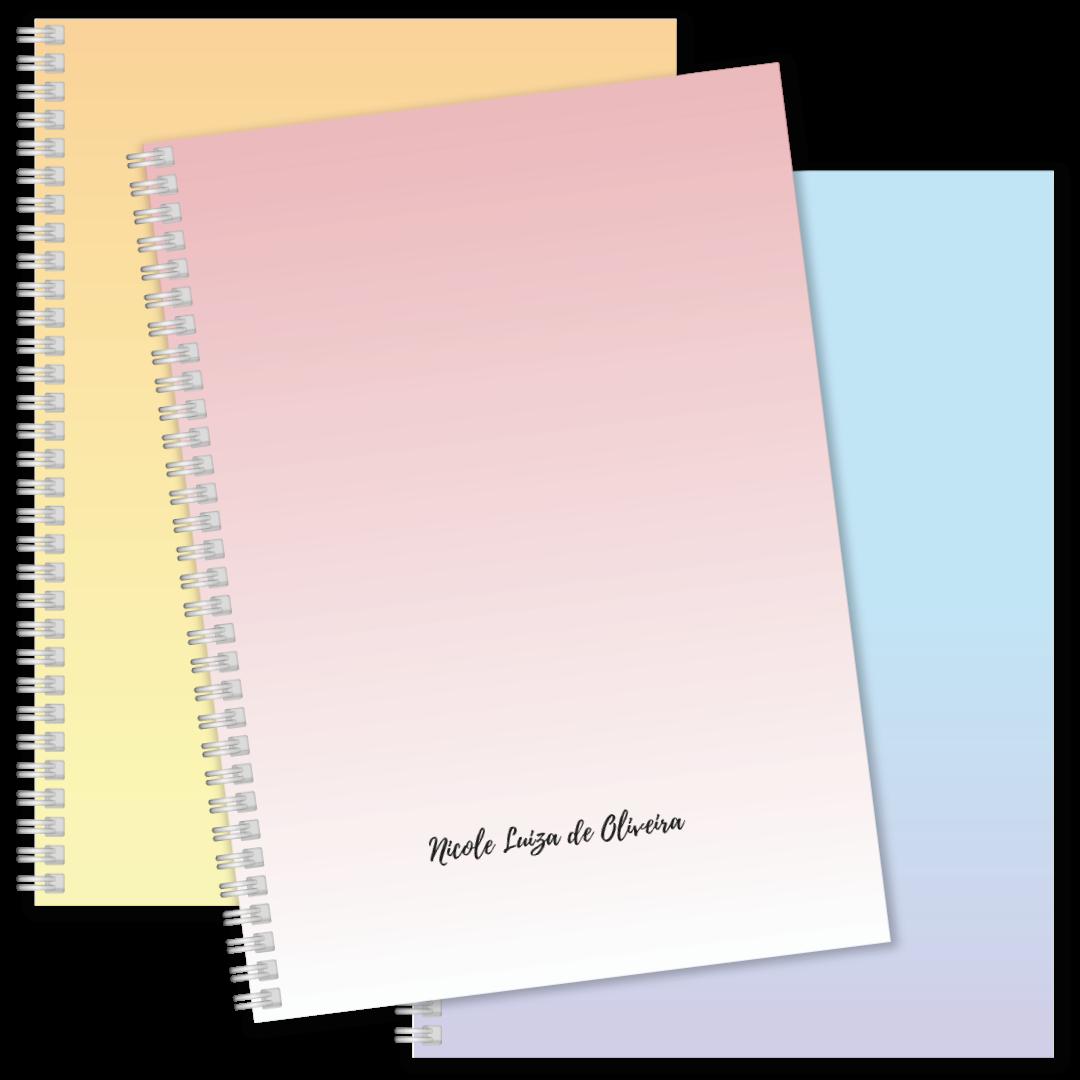 Coleção Sparkle - Caderno Médio