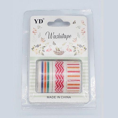 Kit Washi Tape - Stripes