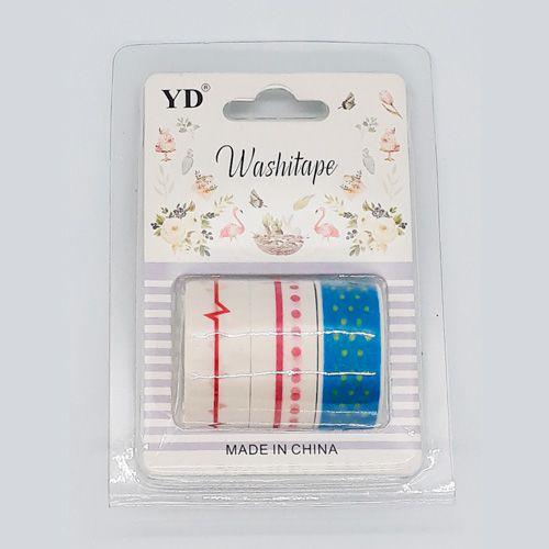 Kit Washi Tape - Stripes II