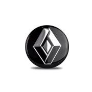 Emblema Adesivo resinado logo marca Renault Diâmetro 58mm