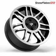 Roda Volcano SNOWFLAKES GT2 Aro 17