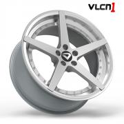 "Roda Volcano VLCN1 Aro 18"" tala 8"" Prata"