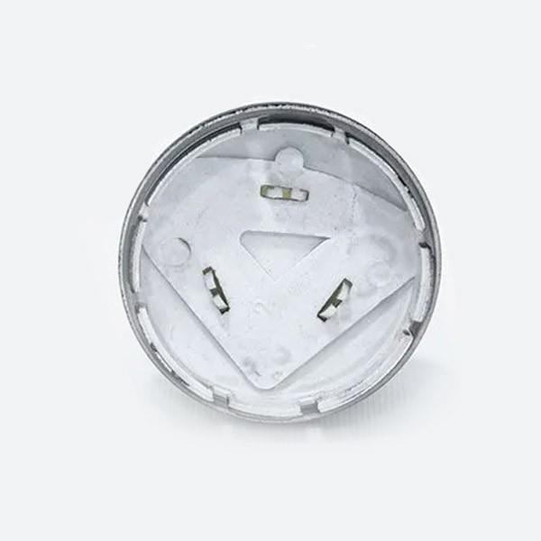 Center Cap Exclusivo  2-Peças Preto com Emblema Virgem (1 unidade)